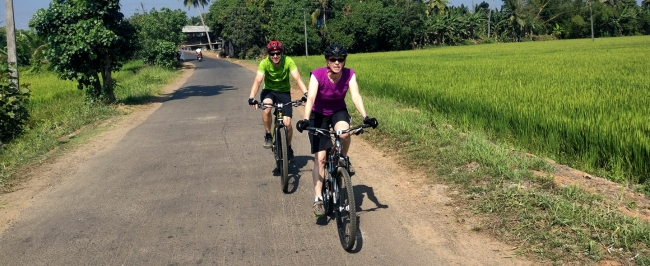 Beach & Backwater Cycling in Kerala